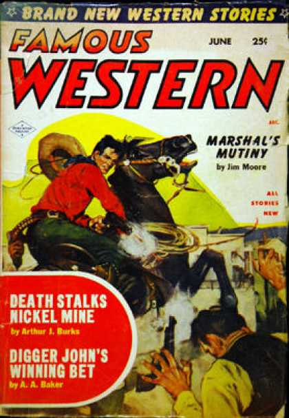 Famous Western - 6/1954