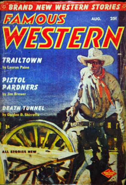 Famous Western - 8/1954