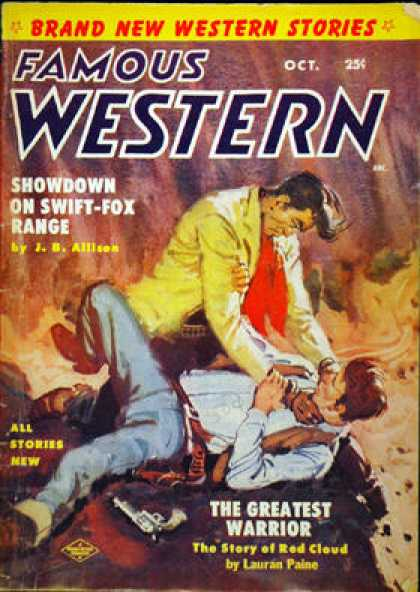 Famous Western - 10/1954