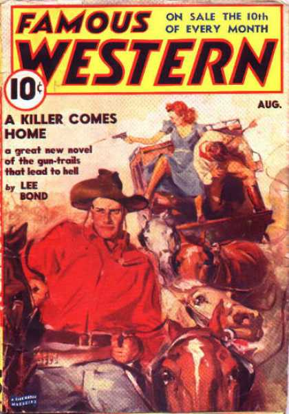 Famous Western - 8/1939