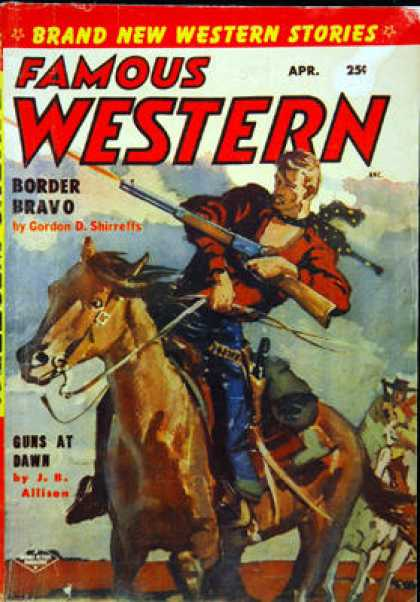 Famous Western - 4/1955