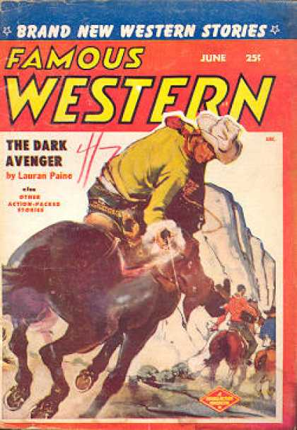 Famous Western - 6/1955