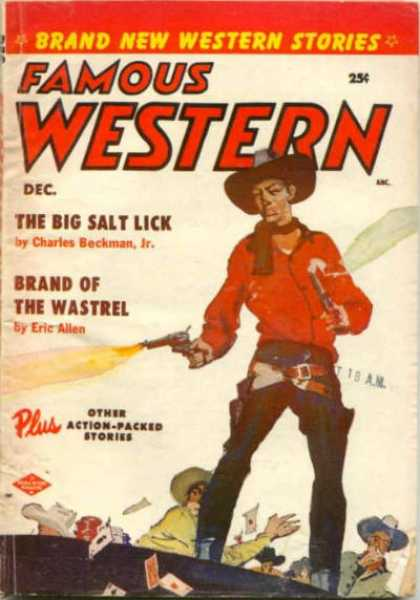 Famous Western - 12/1955
