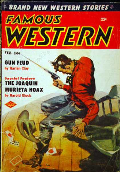 Famous Western - 2/1956