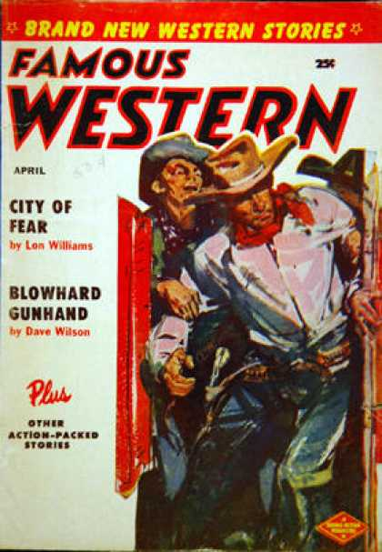 Famous Western - 4/1956