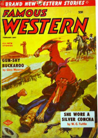 Famous Western - 2/1957