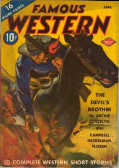 Famous Western - 1/1943