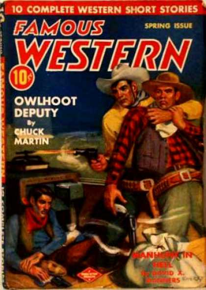 Famous Western - Spring 1943