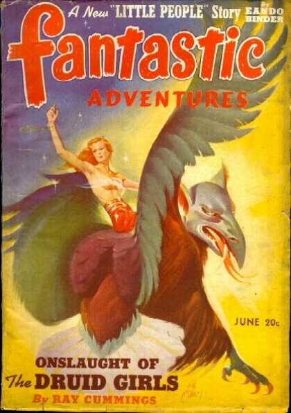 Fantastic Adventures 12