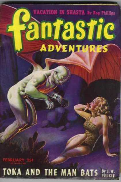 Fantastic Adventures 25