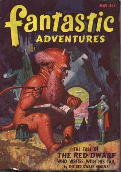 Fantastic Adventures 28