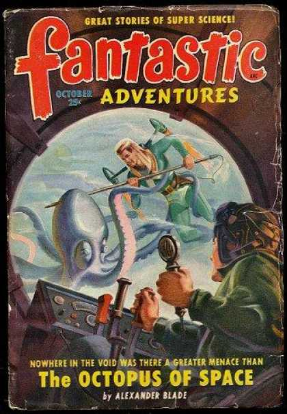 Fantastic Adventures 36