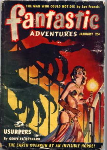 Fantastic Adventures 38