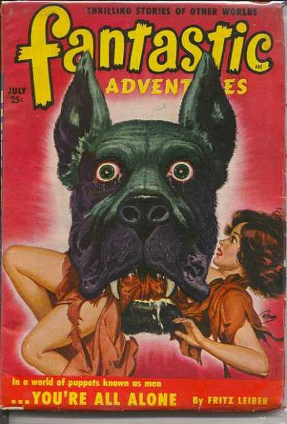 Fantastic Adventures 43