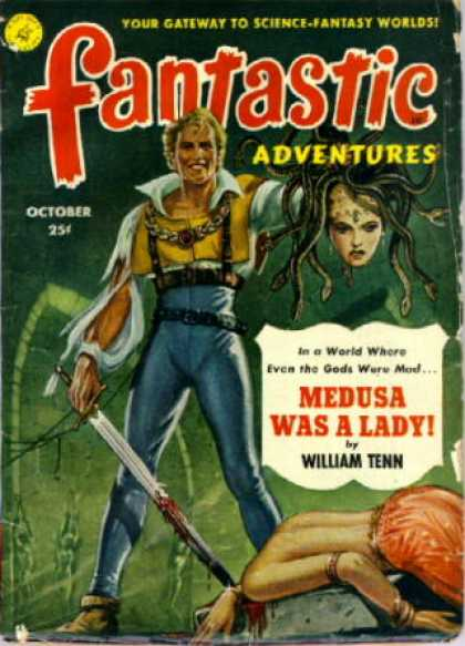 Fantastic Adventures 50 - Medusa