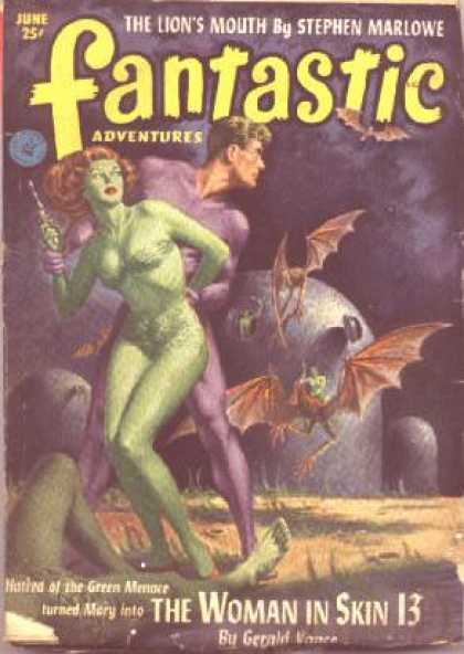 Fantastic Adventures 55