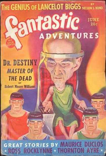 Fantastic Adventures 9