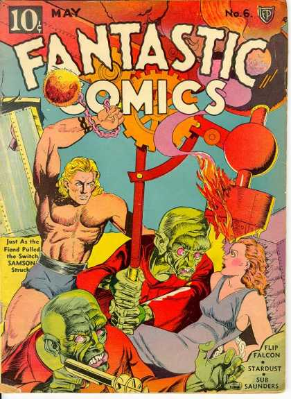 Fantastic Comics 6 - Joe Simon