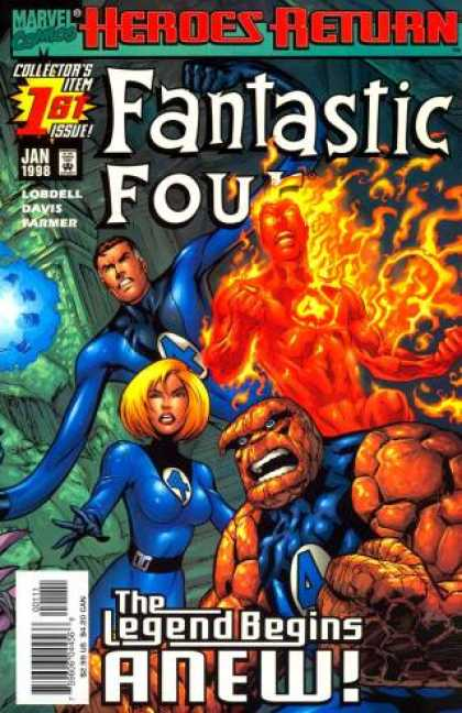 Fantastic Four (1998) 1 - Alan Davis