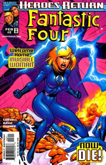Fantastic Four (1998) 2 - Alan Davis