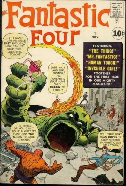 Fantastic Four 1 - Jack Kirby, Jim Lee