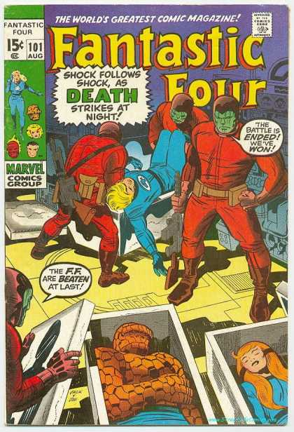 Fantastic Four 101 - Jack Kirby