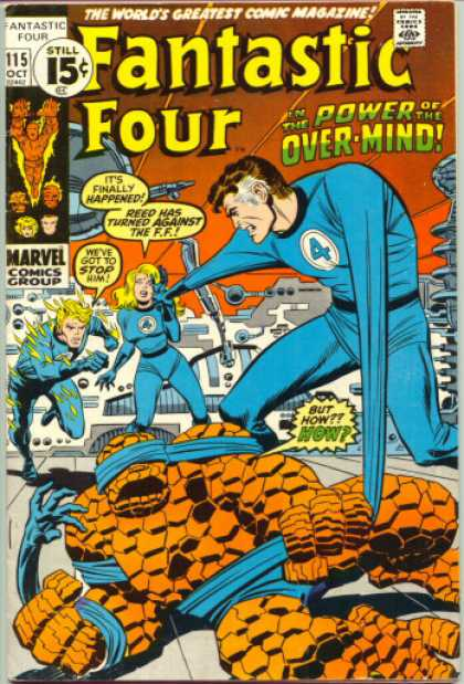 Fantastic Four 115 - Over-mind - John Buscema