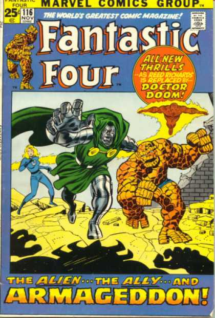 Fantastic Four 116 - Joe Sinnott, John Buscema