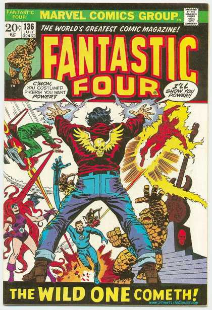 Fantastic Four 136 - Human Torch - Thing
