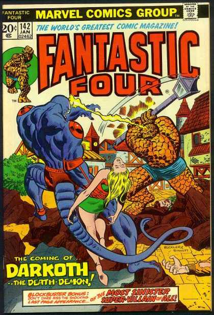 Fantastic Four 142 - Richard Buckler