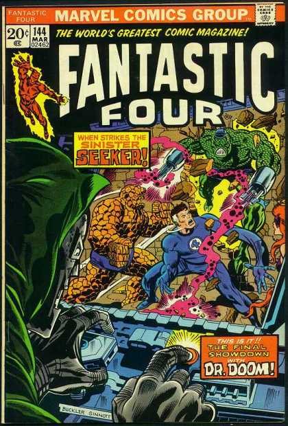 Fantastic Four 144 - Marvel - The Worlds Greatest Comic Magazine - Battle - Mutants - Superheroes - Richard Buckler