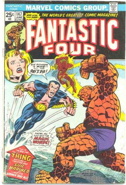Fantastic Four 147 - Richard Buckler