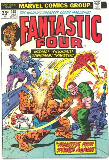Fantastic Four 148 - Richard Buckler