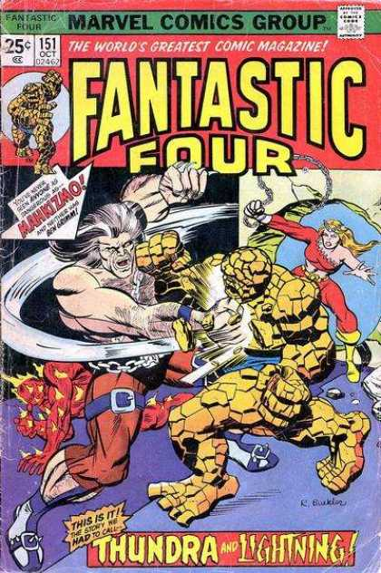 Fantastic Four 151 - Richard Buckler