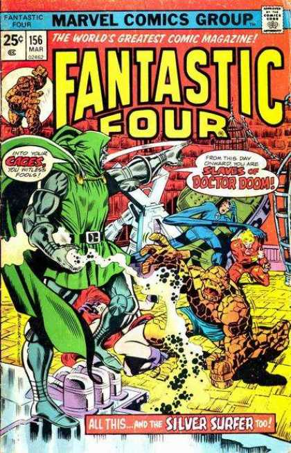 Fantastic Four 156 - Richard Buckler