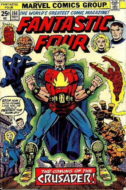 Fantastic Four 164 - Crusader - Jack Kirby, Joe Sinnott