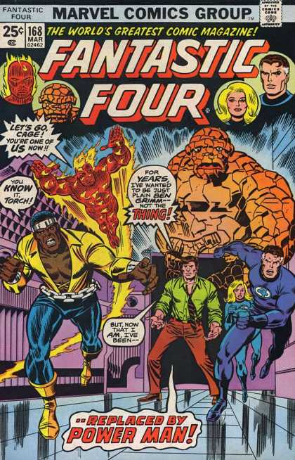 Fantastic Four 168 - Richard Buckler