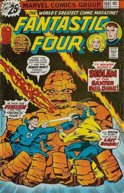 Fantastic Four 169 - Richard Buckler