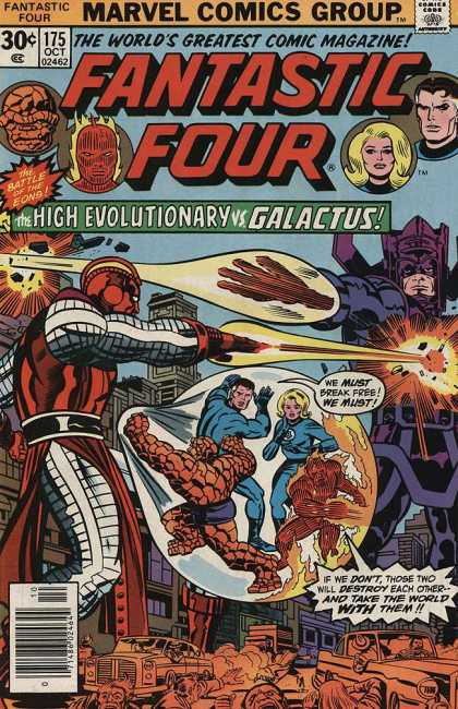Fantastic Four 175 - Destroy - Explosion - Four - Greatest - Comic - Jack Kirby, Joe Sinnott