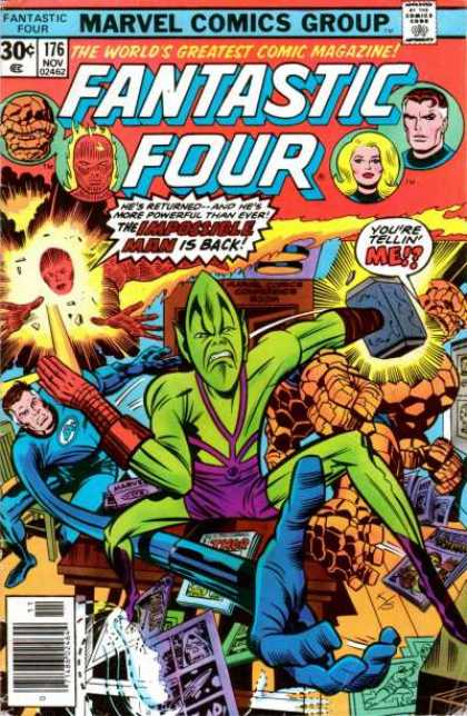 Fantastic Four 176 - Jack Kirby, Joe Sinnott