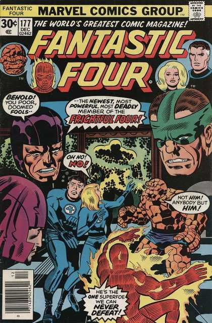 Fantastic Four 177 - Jack Kirby, Joe Sinnott
