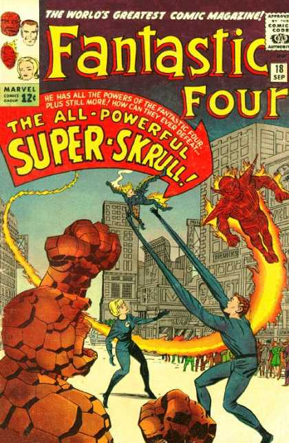 Fantastic Four 18 - Jack Kirby