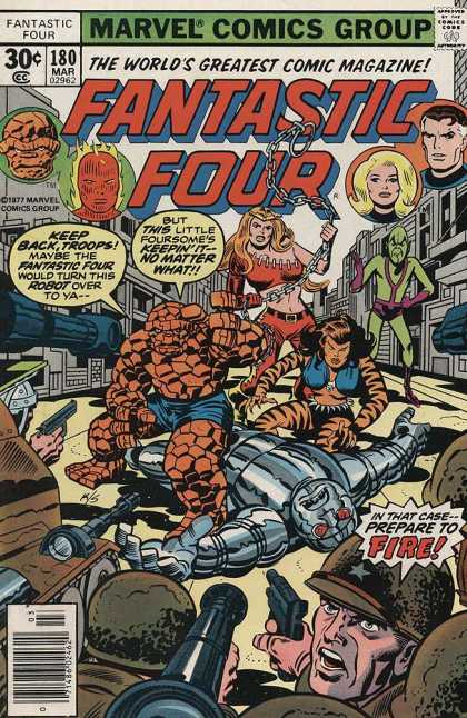 Fantastic Four 180 - Jack Kirby, Joe Sinnott