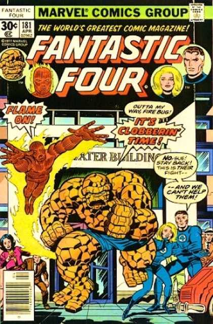 Fantastic Four 181 - Thing - Human Torch - Mr Fantastic - Invisible Girl
