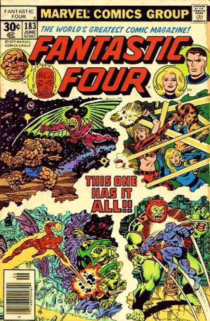 Fantastic Four 183 - Human Torch