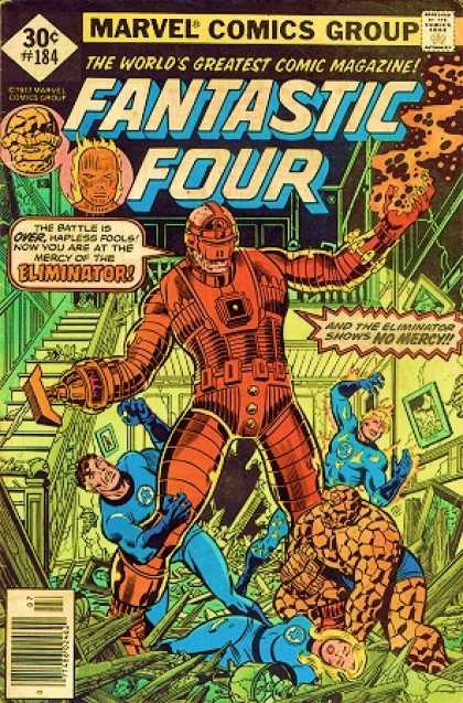 Fantastic Four 184 - George Perez, Joe Sinnott