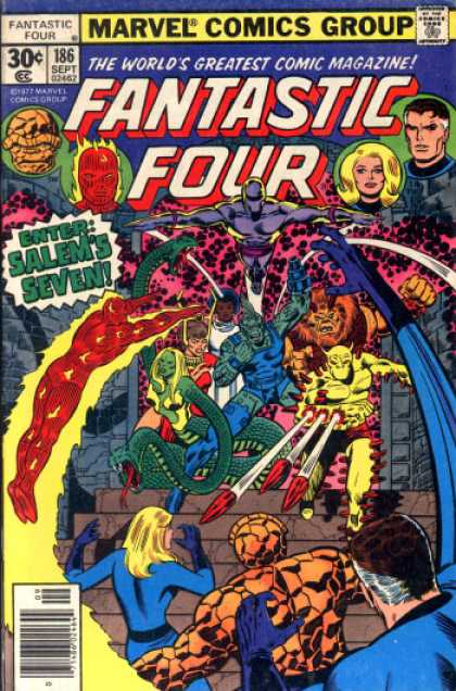 Fantastic Four 186 - Human Torch - Thing