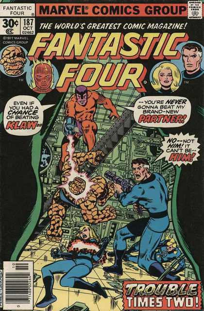 Fantastic Four 187 - Dave Cockrum, George Perez