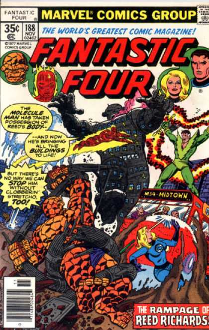 Fantastic Four 188 - Human Torch - George Perez, Joe Sinnott