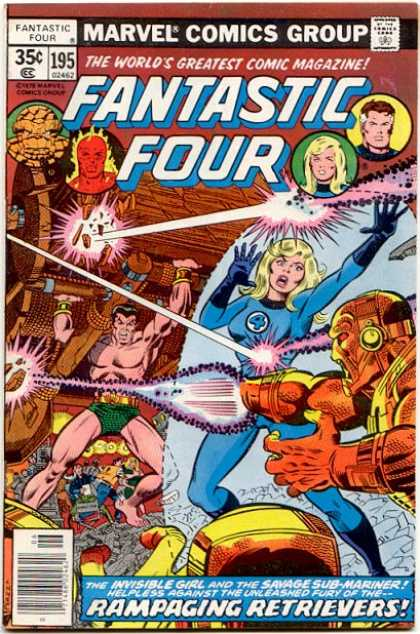 Fantastic Four 195 - George Perez, Joe Sinnott